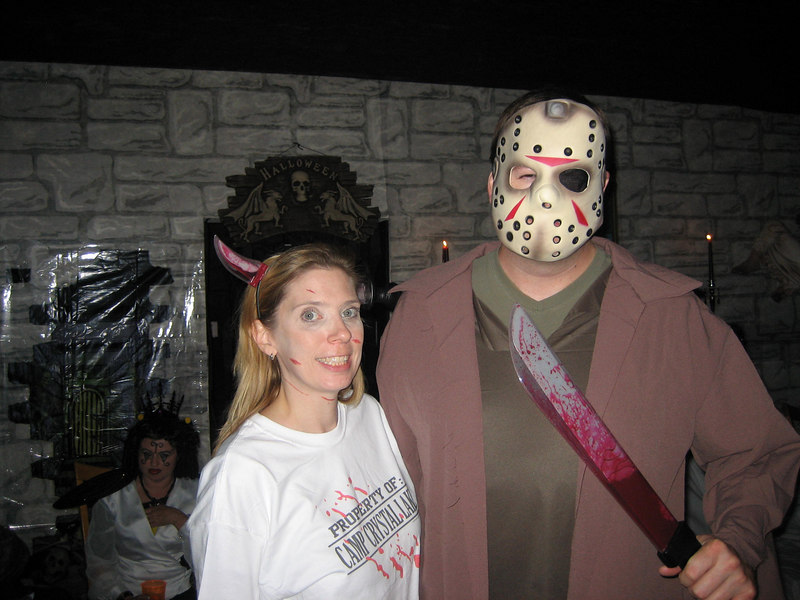 Jason and Camp Crystal Lake victim (Deena)