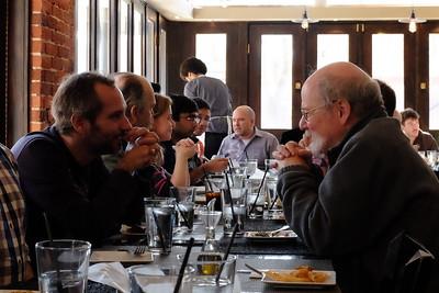 Kostas' Goodbye Lunch