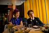 Charming dining companions
