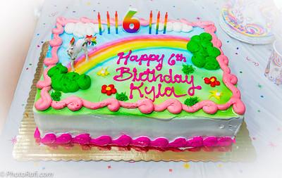 Kyla at 6th BD