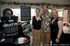 Greg and Cindy Flatt of Ecova Mali, with LUSH's Vanessa