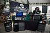 Sea Shepherd and Ecova Mali booth at LUSH press event