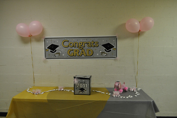 Ashley McKoy's Susprised Graduation Party