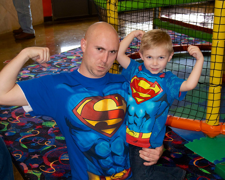 Landon's SUPER Friends 3rd Birthday