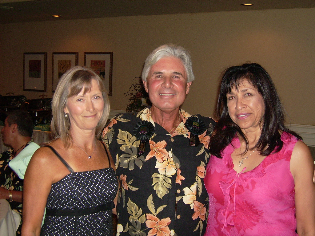 Kathy Brody, Larry Ryan and Patricia Bowman.