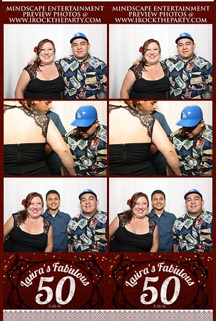 Lauras 50th BD Party - Photo Booth Pictures