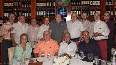 Patsy, John, Lew, Peter (front row, l-r) Jerry, Gary, Jeff, Patsy, Wayne, Will, Chad, John, and Wesley (back row, l-r)