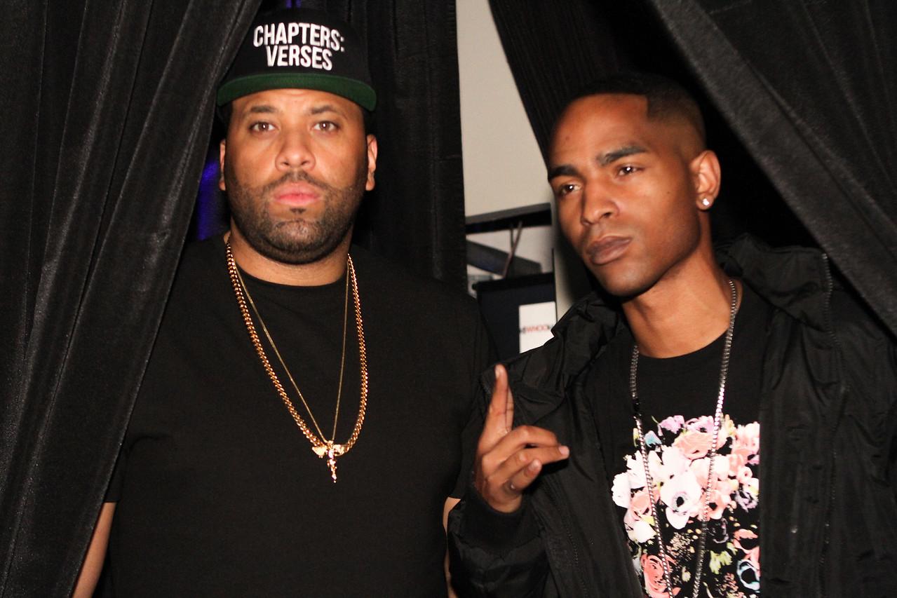 DJ Don Cannon and DJ Big Tiny