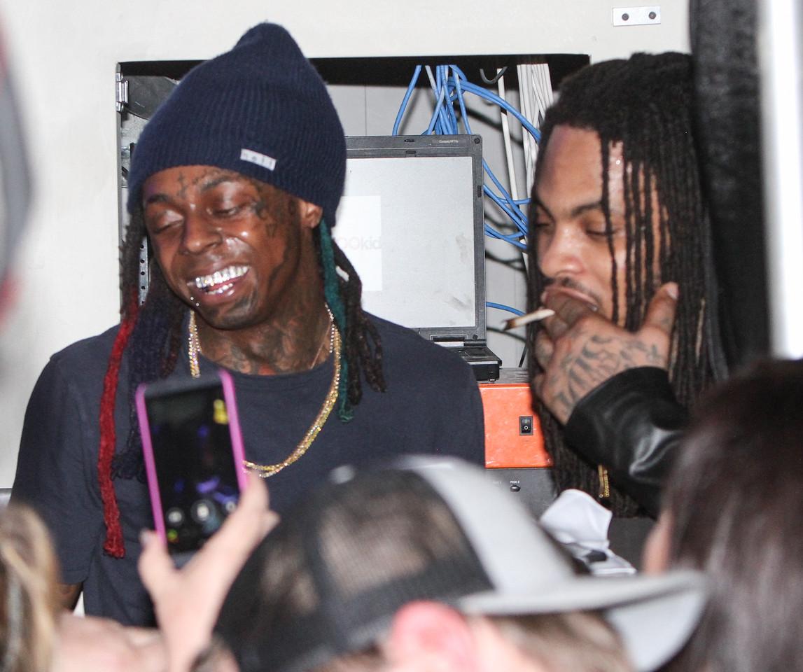 Lil Wayne and Waka Flocka