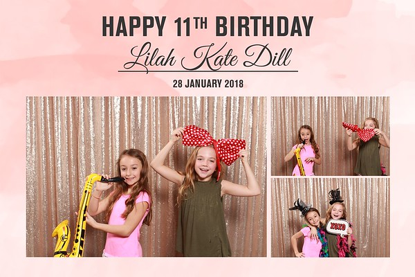 Lilah Kate Dill's 11th Birthday Party