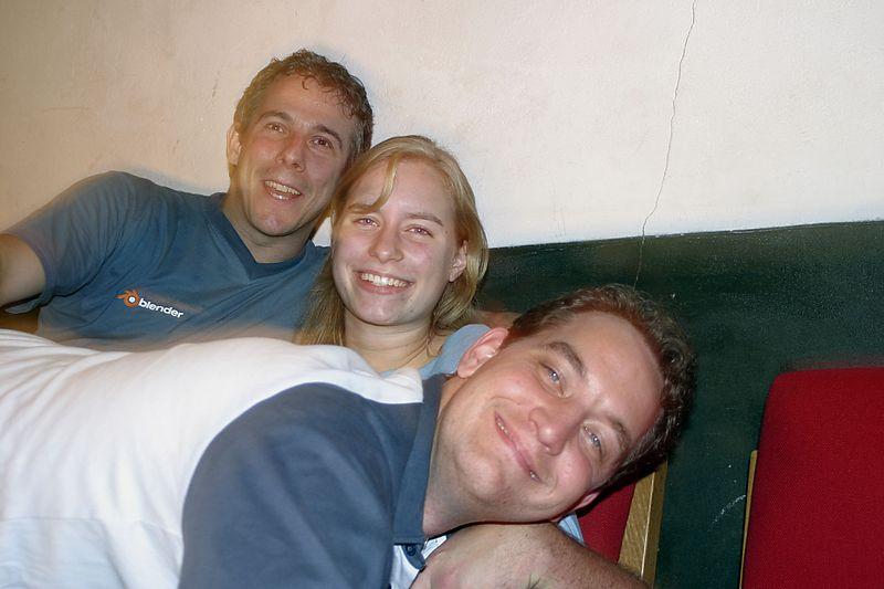 Me, Marijke and Imro