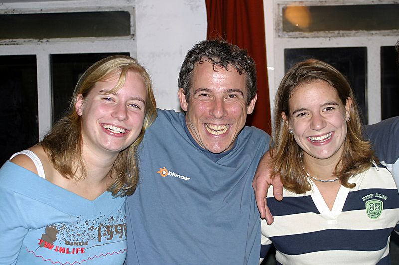 Marijke, me and Nynke