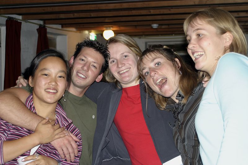 Marrit, Niels, Ellen, Marjolein and Meinou