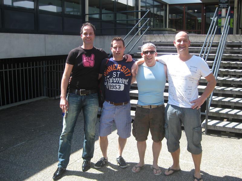 Pascal, Roy, me, Imro