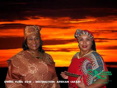 Links African safari