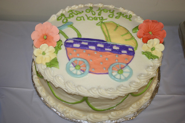 Lisa Ritchie's baby shower