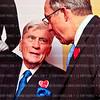 Photo © Tony Powell. Sen. John Warner. Lloyd & Ann Hand 60th Anniversary @ Cafe Milano. February 23, 2012
