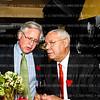Photo © Tony Powell. Howard Fineman, Gen. Colin Powell. Lloyd & Ann Hand 60th Anniversary @ Cafe Milano. February 23, 2012