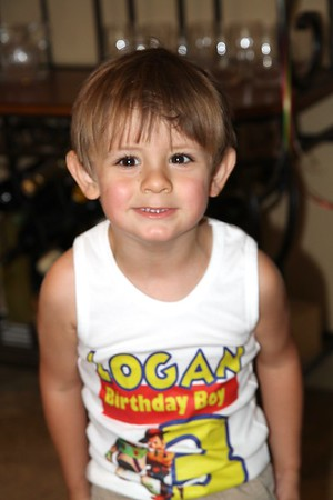 Logan's 3rd Birthday