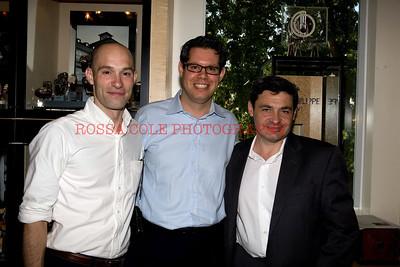 Russell Kelly, Dimitri Aubert, Francois Bezault