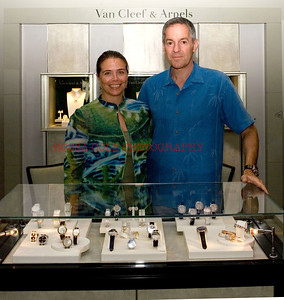 Nathalie Diamantis of Van Cleef & Arpels, Scott Rosen of TW Steel_1