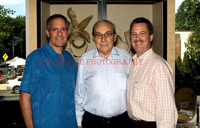 Scott Rosen from TW Steel, Paul Jordi from Franck Muller, Ed Dressler from London Jewelers