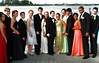 Long Beach High School Prom attendees line up for one more photo for the parents on the dock of the Frasier home. Photo by Kathy Leistner