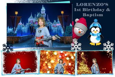 Lorenzo's 1st Birthday and Baptism