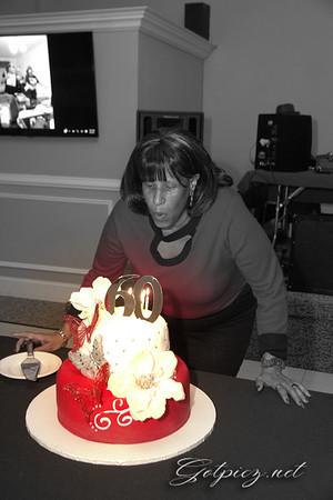 MICHELLE'S BEAUTIFUL SURPRISE BIRTHDAY CELEBRATION 4/1/17