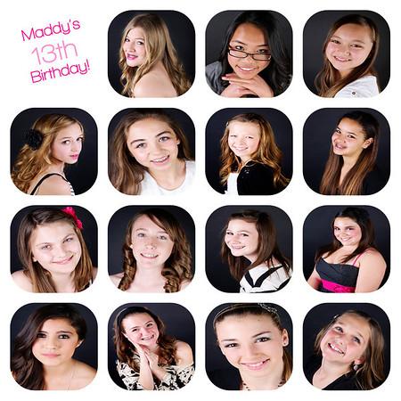 Maddy's 13th Birthday