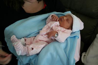 Miranda Lynn 2 days old