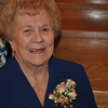 The Belle of the Ball...Mary Jane turned 90.  She's at Mass, in her honor at OLQM.  Beautiful lady and gorgeous flowers!