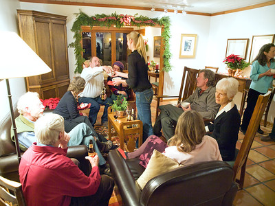 2011 Christmas party, at Mary & Bob's