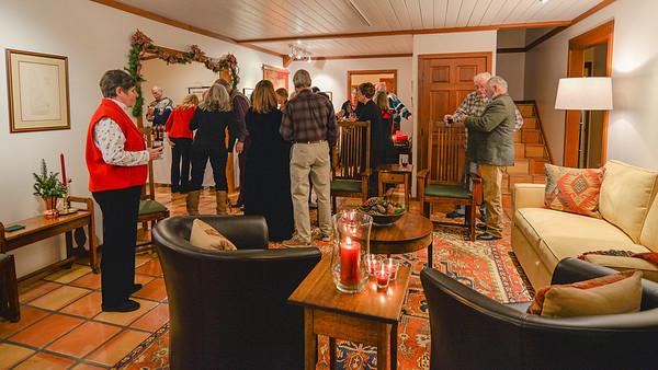 2015 Christmas party at Mary & Bob's