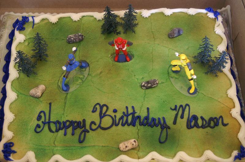 Mason's Party Birthday Party