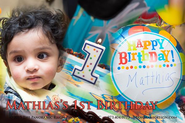 Mathais's 1st Birthday