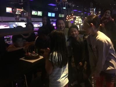 Matty's birthday 2017