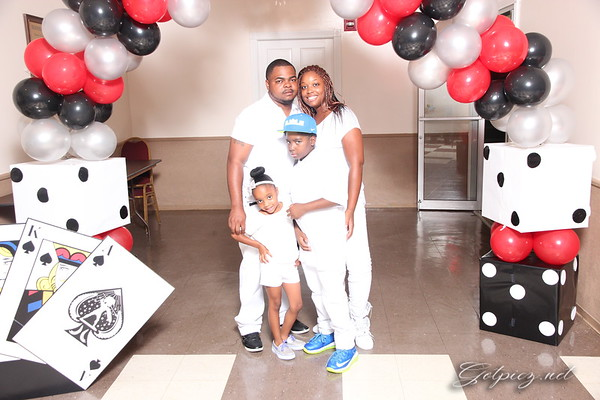 Maurice 30th Birthday Casino Party 8-30-14