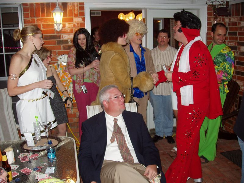 Elvis meets and greets fans
