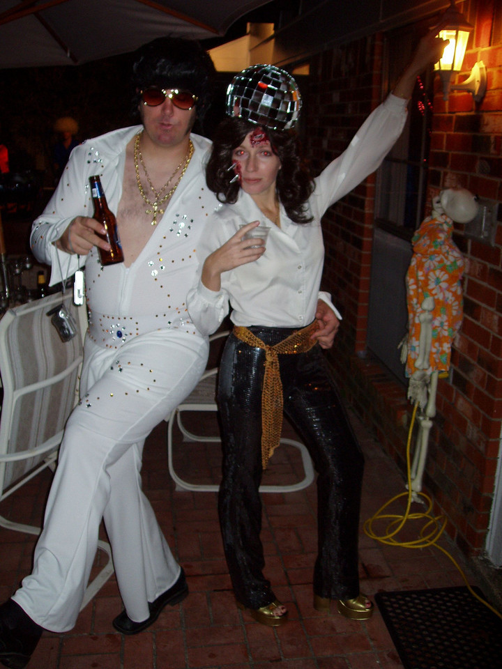 Fat Elvis and Disco Ball Tragedy