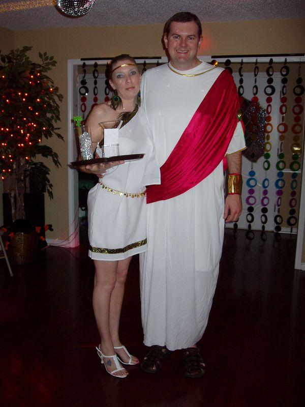 Deena and Sean as Caesar's Palace