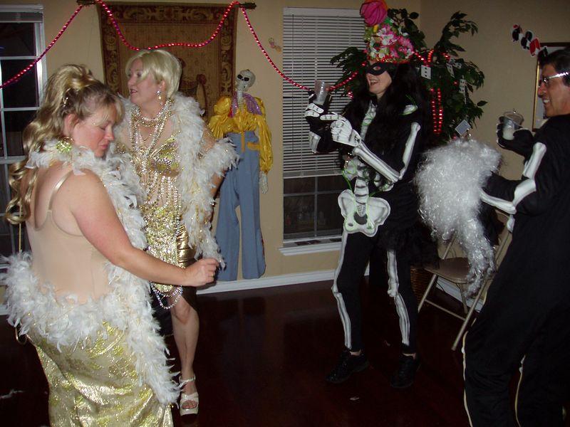 Dance Floor Skeleton Crew