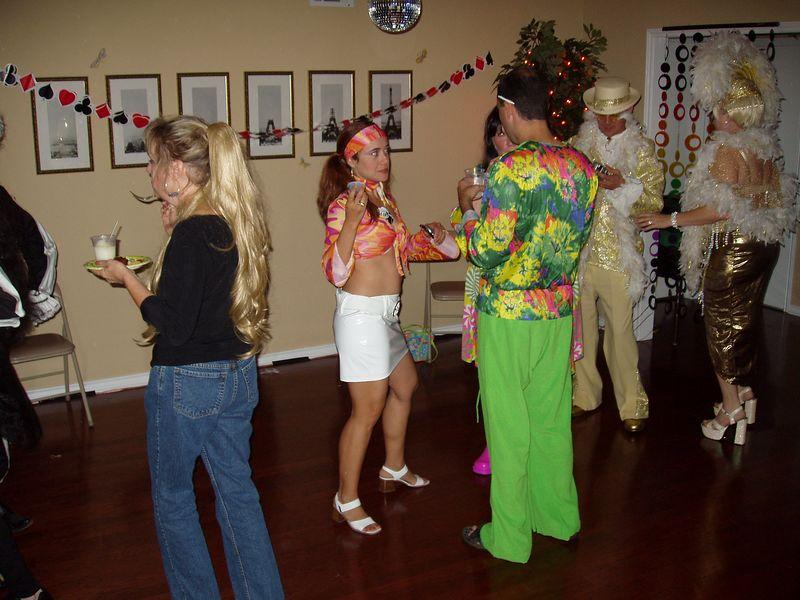 Sandra and Justin on the dance floor