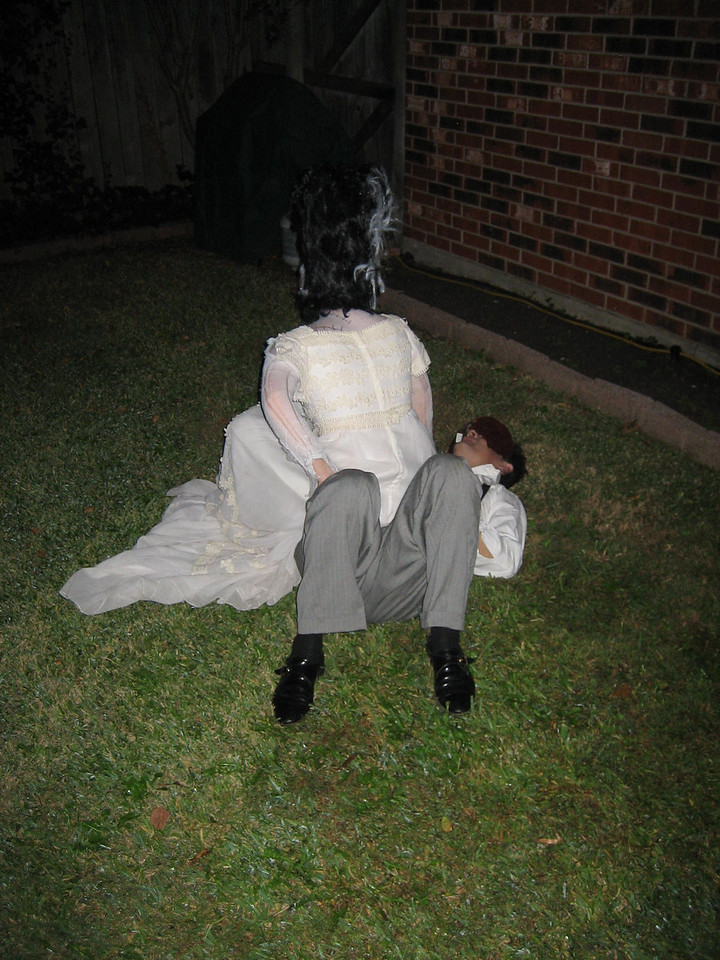 Bride of Frankenstein sees how Bill is doing