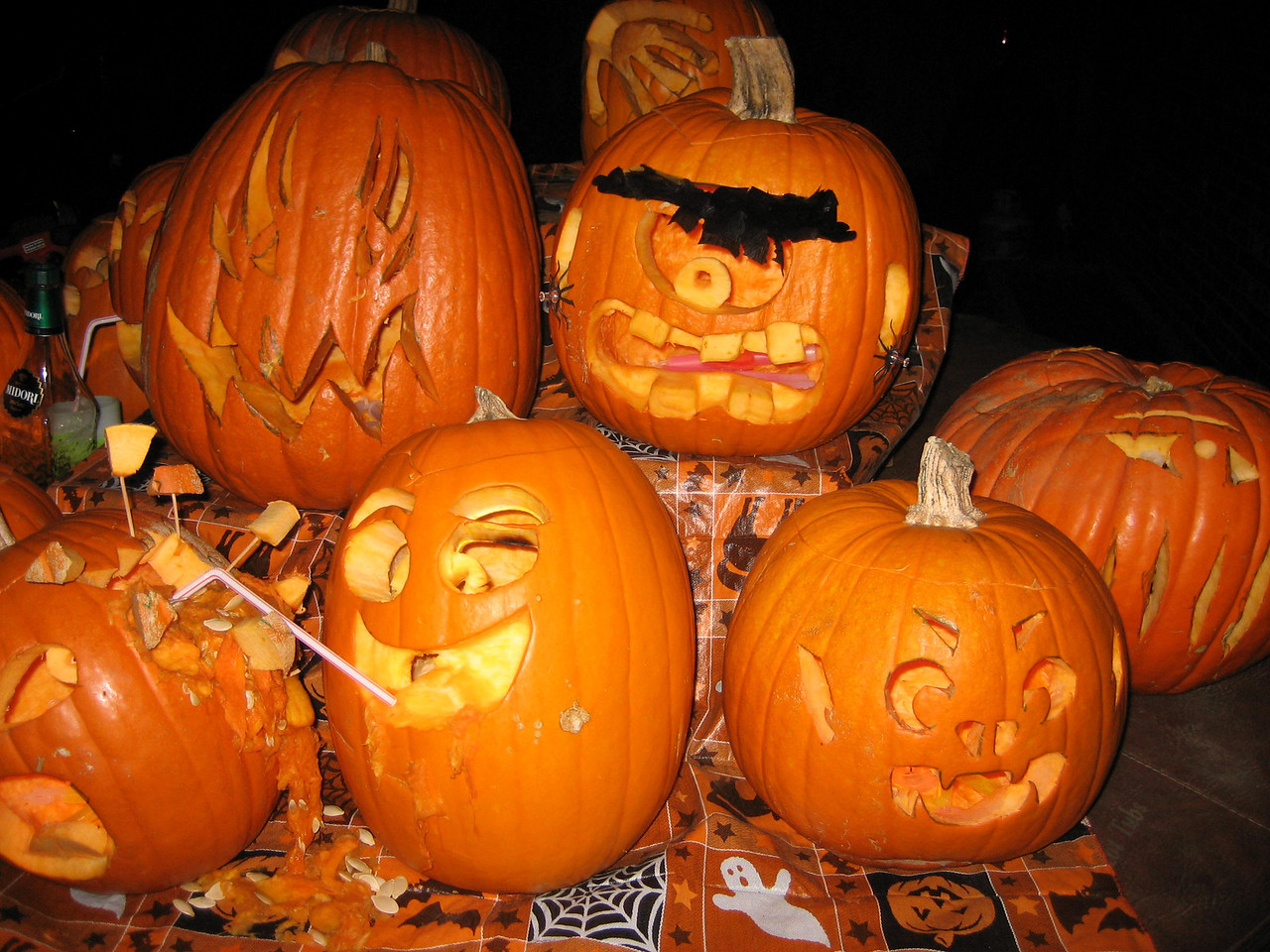 Unibrow and other pumpkins