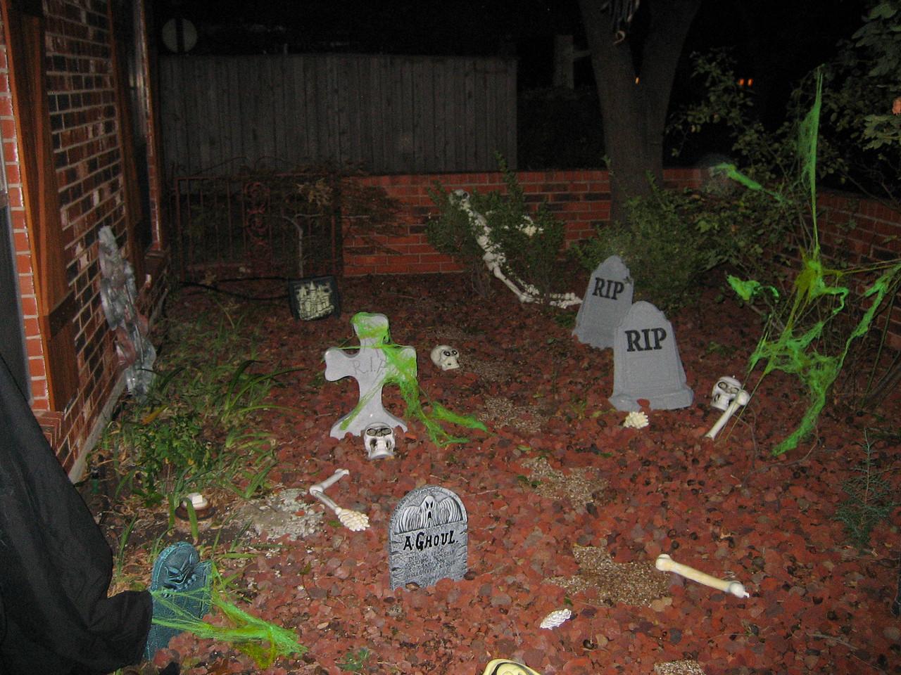 Entry graveyard
