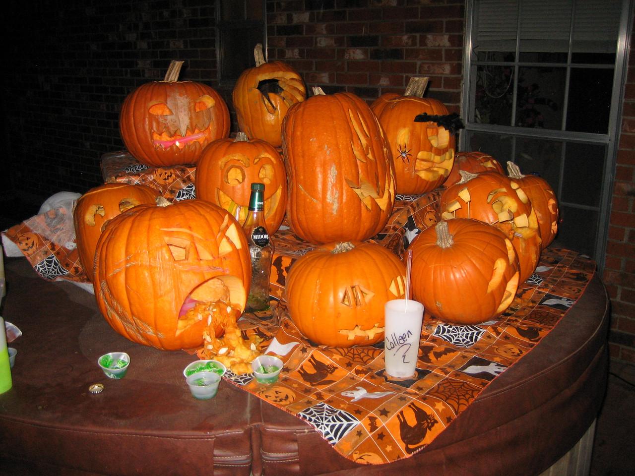 Bizarre pumpkins!