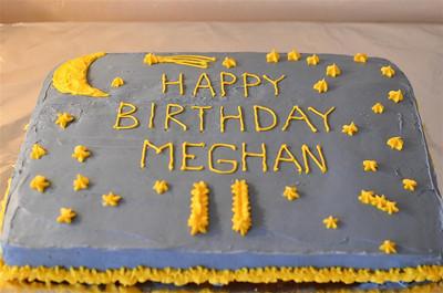Meghan's 11th Birthday