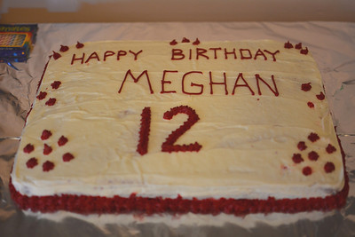 Meghan's 12th Birthday