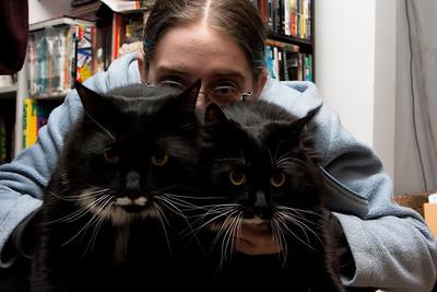 Tashari, Heisenberg, and Guinevere.